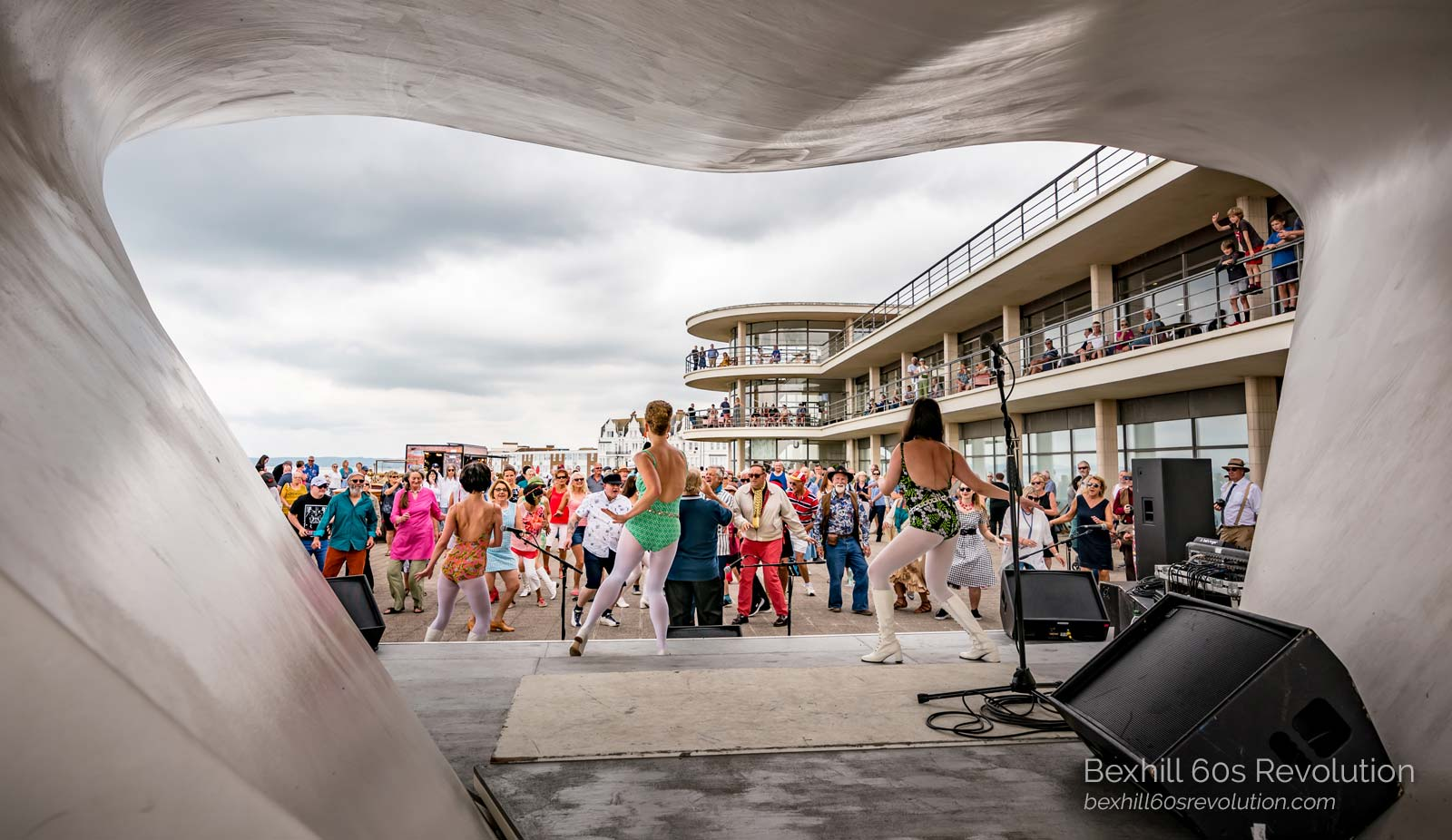 the Meyer Dancers on the DLWP Stage