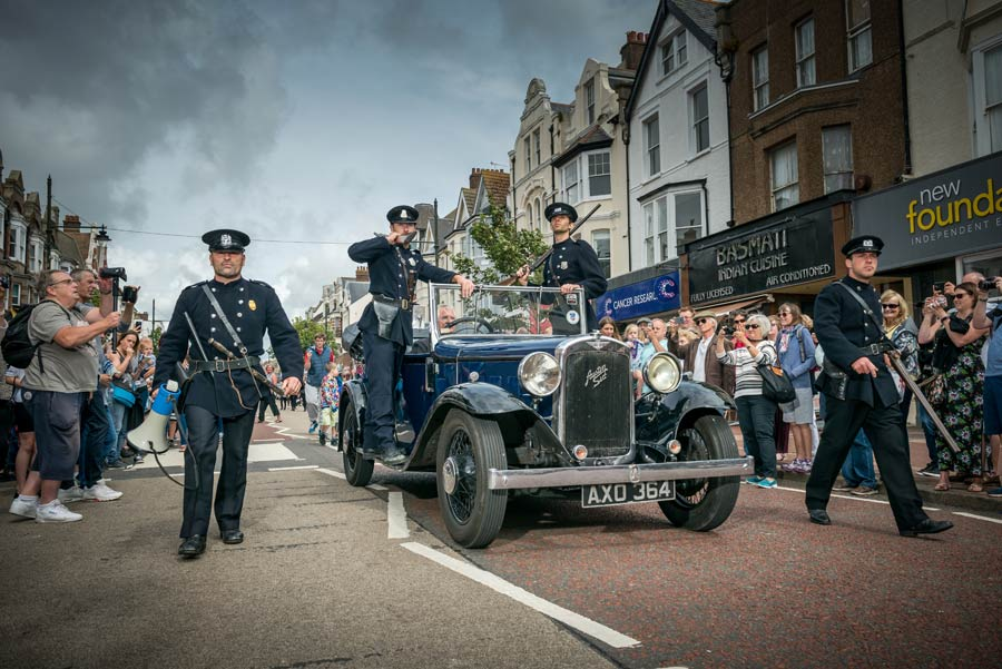 Gangsters and cops fight at the Bexhill Roaring 20s