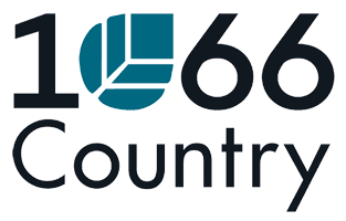 1066 Country logo